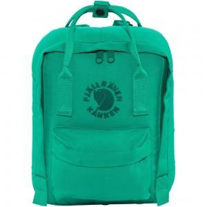 FJALLRAVEN Re-Kånken Mini - Sac à dos - turquoise Turquoise [ Promotion Black Friday 2020 Soldes ]