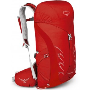 Osprey Sac à dos de randonnée léger homme - Talon 18 Martian Red - Marque [ Soldes ]