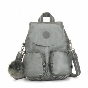 Kipling Petit sac à dos transformable en sac à bandoulière Metallic Stony [ Promotion Black Friday 2020 Soldes ]
