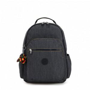 Kipling Grand Sac à Dos avec Protection pour Ordinateur Portable Extreme Block Rainbow [ Soldes ]