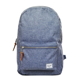 Herschel Sac à dos Settlement dark chambray crosshatch [ Soldes ]