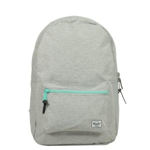 Herschel Sac à dos Settlement light grey crosshatch Pas Cher