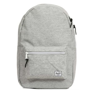 Herschel Sac à dos Settlement light grey crosshatch [ Soldes ]