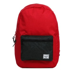 Herschel Sac à dos Settlement barbados cherry crosshatch/black crosshatch Pas Cher