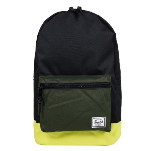 Herschel Sac à dos Settlement black/forest night/evening primrose Pas Cher