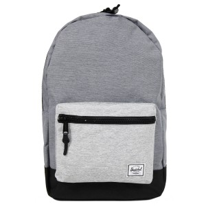 Herschel Sac à dos Settlement mid grey crosshatch/black/light grey crosshatch [ Soldes ]