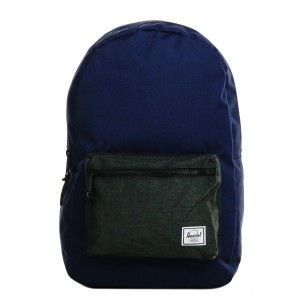 Herschel Sac à dos Settlement peacoat/black crosshatch [ Soldes ]
