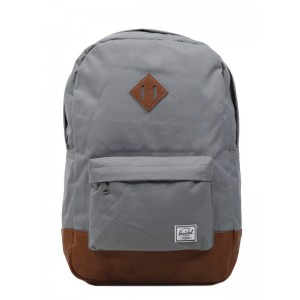 Herschel Sac à dos Heritage grey/tan [ Promotion Black Friday 2020 Soldes ]