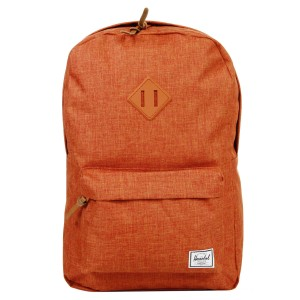 Herschel Sac à dos Heritage burnt orange crosshatch Pas Cher