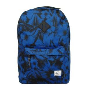 Herschel Sac à dos Heritage jungle floral blue [ Soldes ]