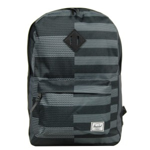 Herschel Sac à dos Heritage routes/black [ Promotion Black Friday 2020 Soldes ]