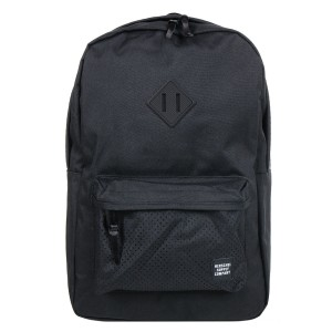 Herschel Sac à dos Heritage Aspect black/black rubber [ Promotion Black Friday 2020 Soldes ]