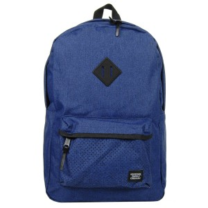 Herschel Sac à dos Heritage Aspect eclipse crosshatch/black rubber Pas Cher