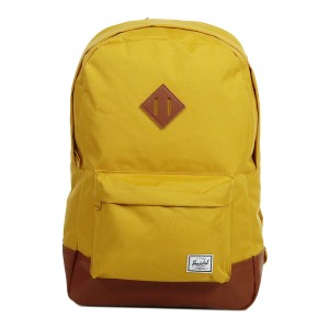 Herschel Sac à dos Heritage arrowwood/tan synthetic leather [ Soldes ]