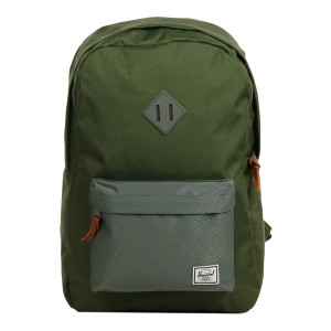 Herschel Sac à dos Heritage ivy green/smoked pearl [ Promotion Black Friday 2020 Soldes ]