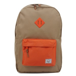 Herschel Sac à dos Heritage kelp/vermillion orange [ Promotion Black Friday 2020 Soldes ]