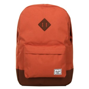 Herschel Sac à dos Heritage apricot brandy/saddle brown [ Soldes ]
