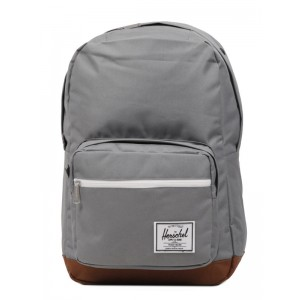 Herschel Sac à dos Pop Quiz grey/tan Pas Cher
