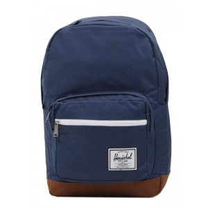 Herschel Sac à dos Pop Quiz navy/tan Pas Cher