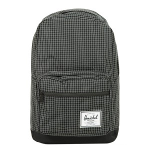 Herschel Sac à dos Pop Quiz black grid/black [ Promotion Black Friday 2020 Soldes ]