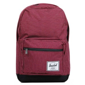 Herschel Sac à dos Pop Quiz windsor wine grid/black [ Soldes ]