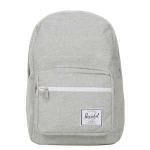 Herschel Sac à dos Pop Quiz light grey crosshatch [ Soldes ]