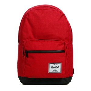 Herschel Sac à dos Pop Quiz barbados cherry crosshatch/black crosshatch [ Soldes ]