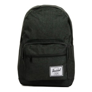 Herschel Sac à dos Pop Quiz black crosshatch/black rubber [ Soldes ]