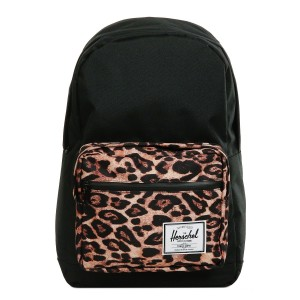 Herschel Sac à dos Pop Quiz black/desert cheetah [ Soldes ]