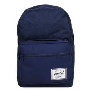 Herschel Sac à dos Pop Quiz medievel blue crosshatch/medievel blue [ Soldes ]