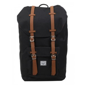 Herschel Sac à dos Little America black/tan [ Soldes ]
