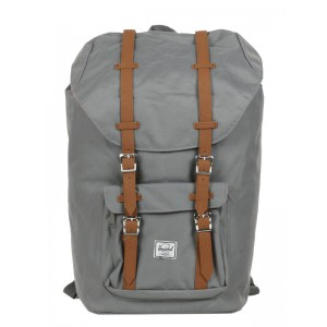 Herschel Sac à dos Little America grey/tan Pas Cher