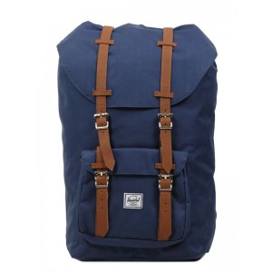 Herschel Sac à dos Little America navy/tan [ Promotion Black Friday 2020 Soldes ]