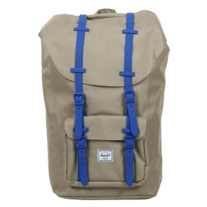Herschel Sac à dos Little America brindle/cobalt native rubber Pas Cher