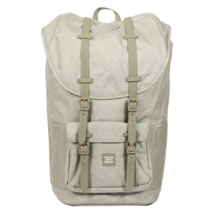 Herschel Sac à dos Little America Aspect dark khaki crosshatch/seneca rock rubber Pas Cher