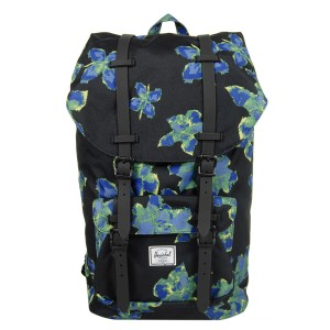 Herschel Sac à dos Little America neon floral/black rubber [ Promotion Black Friday 2020 Soldes ]