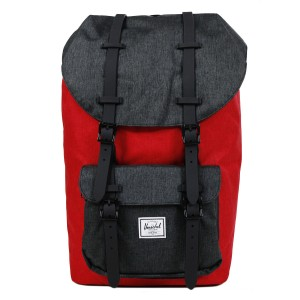 Herschel Sac à dos Little America barbados cherry crosshatch/black crosshatch [ Soldes ]