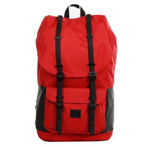 Herschel Sac à dos Little America Aspect barbados cherry crosshatch/black [ Promotion Black Friday 2020 Soldes ]