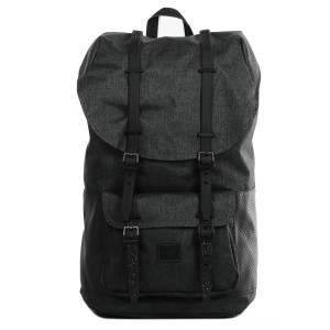 Herschel Sac à dos Little America Aspect black crosshatch/black/white Pas Cher