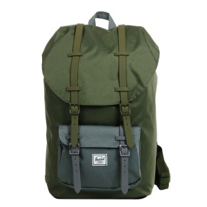 Herschel Sac à dos Little America ivy green/smoked pearl [ Promotion Black Friday 2020 Soldes ]