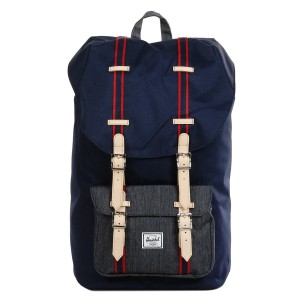 Herschel Sac à dos Little America Offset peacoat/dark denim Pas Cher