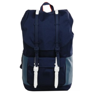 Herschel Sac à dos Little America Aspect peacoat/navy/vermillion orange [ Promotion Black Friday 2020 Soldes ]