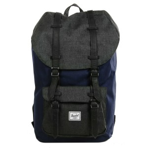 Herschel Sac à dos Little America peacoat/black crosshatch [ Soldes ]