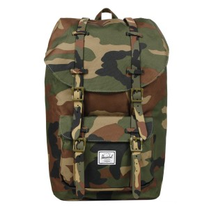 Herschel Sac à dos Little America woodland camo [ Promotion Black Friday 2020 Soldes ]