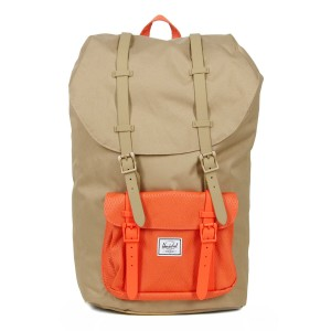 Herschel Sac à dos Little America kelp/vermillion orange [ Soldes ]