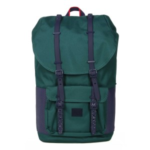 Herschel Sac à dos Little America Aspect deep teal/peacoat [ Promotion Black Friday 2020 Soldes ]