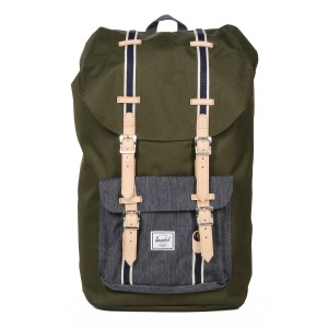 Herschel Sac à dos Little America Offset forest night/ dark denim Pas Cher