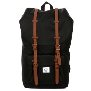 Herschel Sac à dos Little America black/saddle brown [ Soldes ]