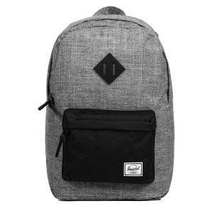Herschel Sac à dos Heritage Mid Volume raven crosshatch [ Promotion Black Friday 2020 Soldes ]