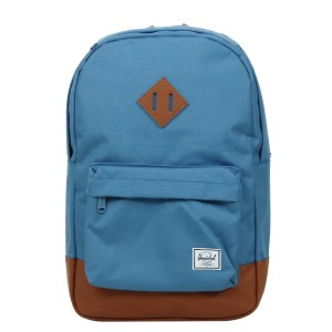 Herschel Sac à dos Heritage Mid Volume captain's blue/tan [ Promotion Black Friday 2020 Soldes ]
